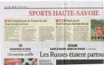 championnat france juillet 2012