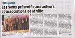 Yann aux Voeux du maire 8 janvier 2014